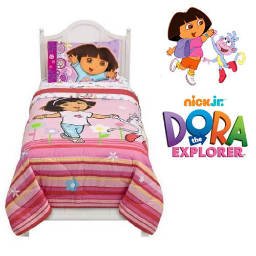 dora bedding with boots