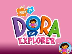pink dora the explorer pictures