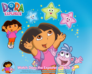 dora pictures with boots