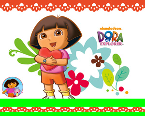 valentines day dora pictures