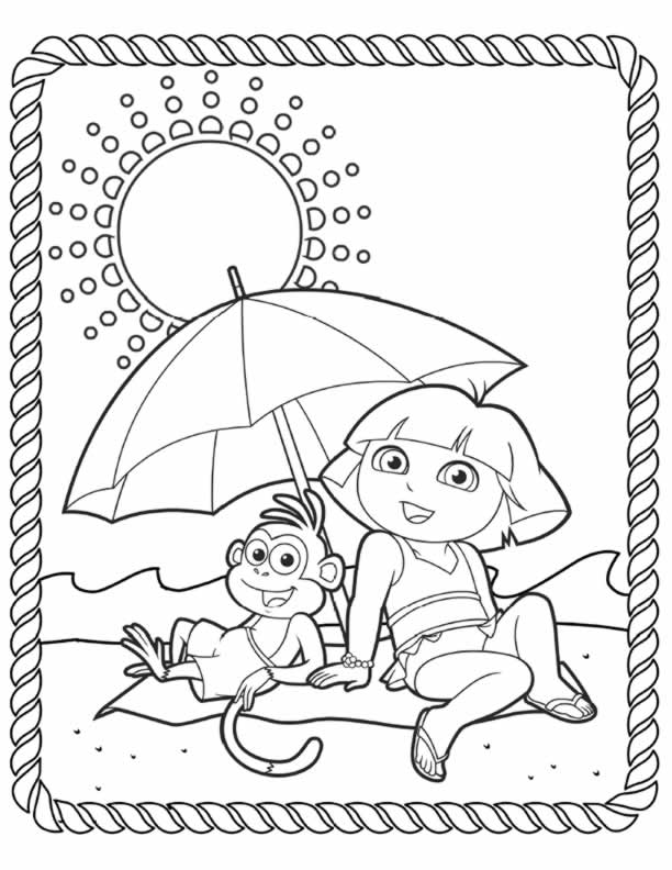 diego christmas coloring pages - photo#27