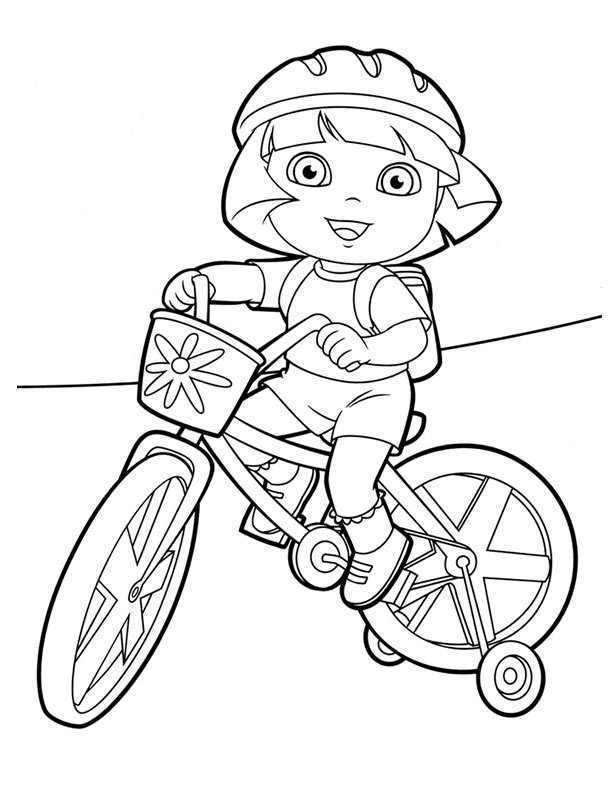 Dora Coloring - Lots of Dora Coloring Pages and Printables!