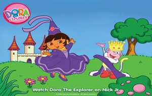 dora large wallpaper image